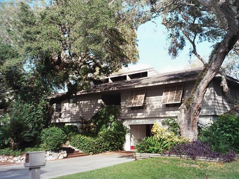 major home remodeling - before