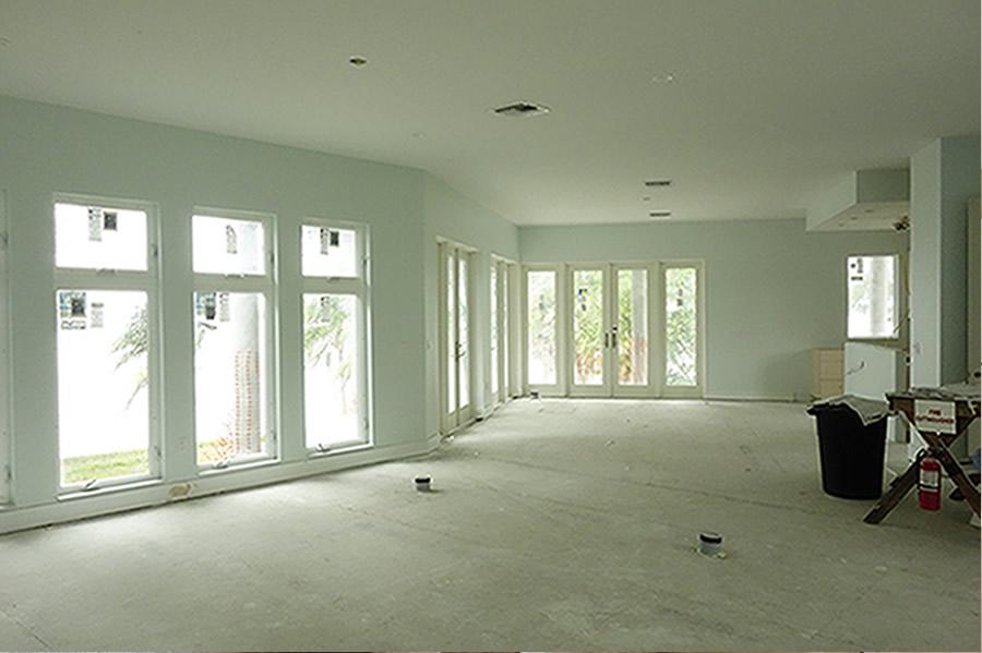 Living Room - under construction
