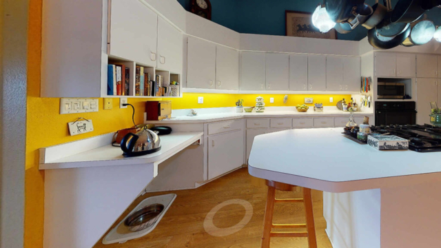 Small Kitchen Cabinets - before remodeling