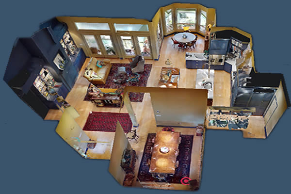 Dollhouse View: Interior Remodel
